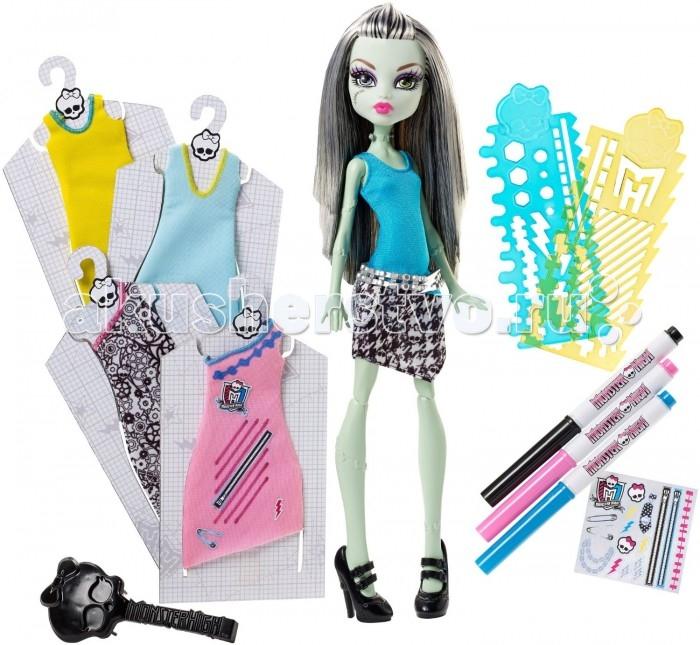 Monster High Игровой набор Стильная Фрэнки Штейн