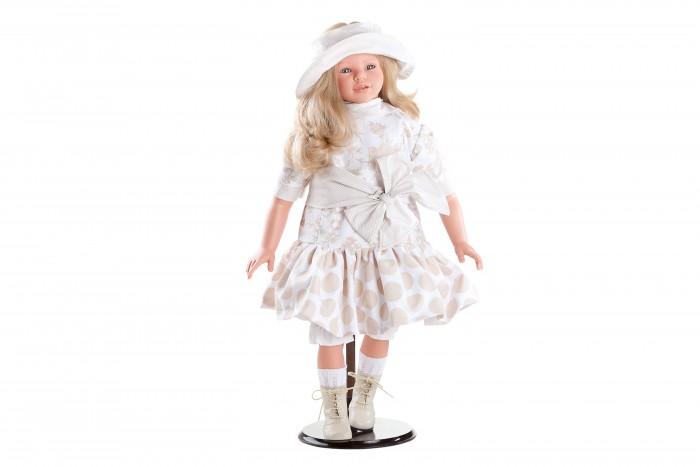 Dnenes/Carmen Gonzalez Кукла Кэндел в платье в бежевых тонах и шляпке 72 см