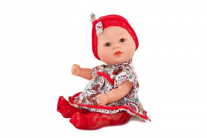 Dnenes/Carmen Gonzalez Кукла-пупс Бебетин в платье и красных колготках 21 см