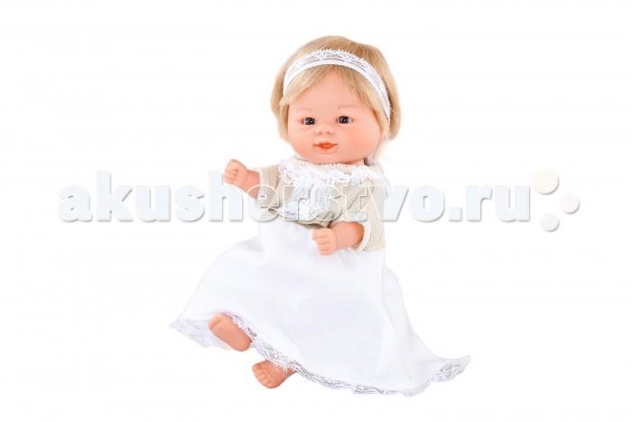 Dnenes/Carmen Gonzalez Кукла-пупс Бебетин в длинном торжественном платье 21 см