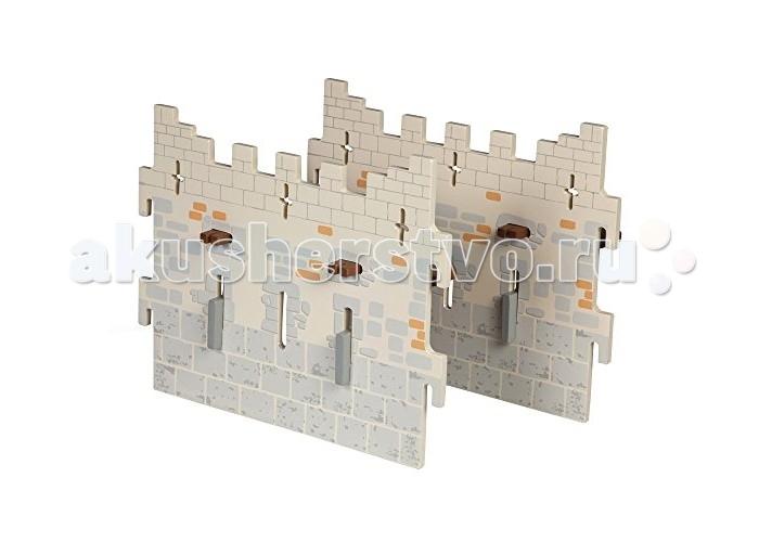 Игровые наборы Papo Замок рыцарей - 2 широкие съемные стены игровые наборы игруша набор замок принцессы на бат
