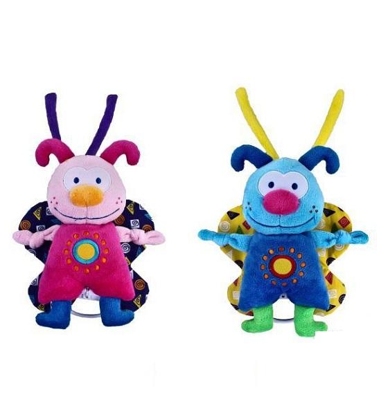 Подвесные игрушки Жирафики Бабочка 93848 жирафики юла птички жирафики