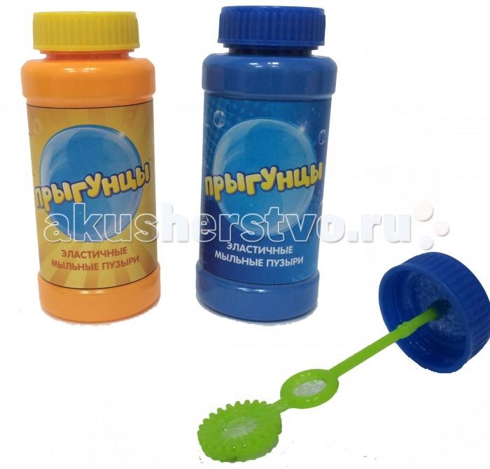 Мыльные пузыри 1 Toy Прыгунцы Эластичные мыльные пузыри бутылка 100 мл paddle bubble 278213 мыльные пузыри 60 мл с набором ракеток