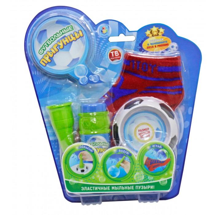 Мыльные пузыри 1 Toy Футбольные Прыгунцы 80 мл мыльные пузыри формула 1 60 мл