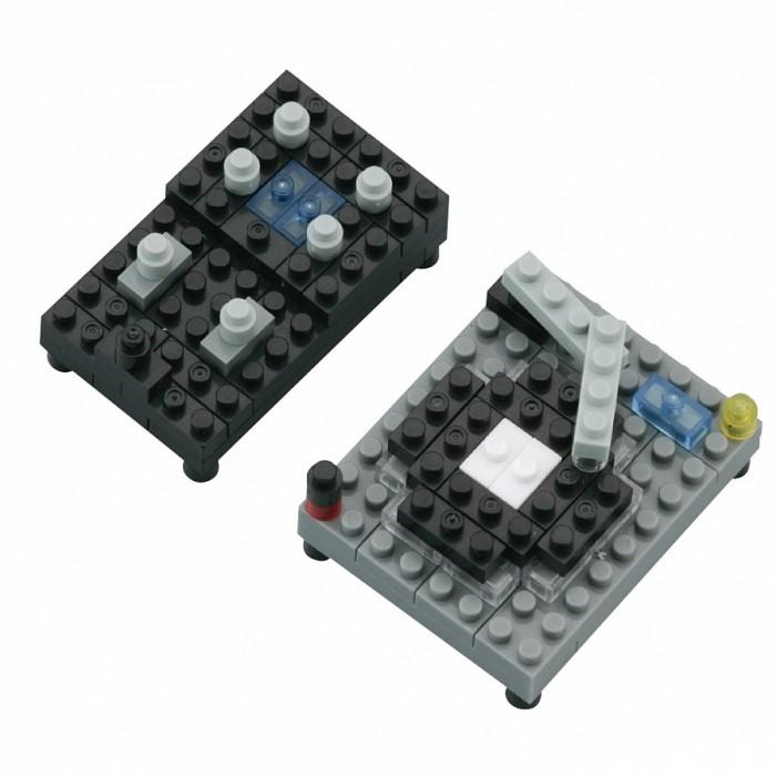 Конструкторы Nanoblock DJ-сет 90 элементов мини конструктор nanoblock dj сет