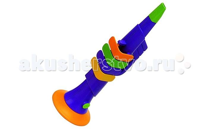 Музыкальные игрушки Reig Труба Натура 4 клавиши музыкальные игрушки