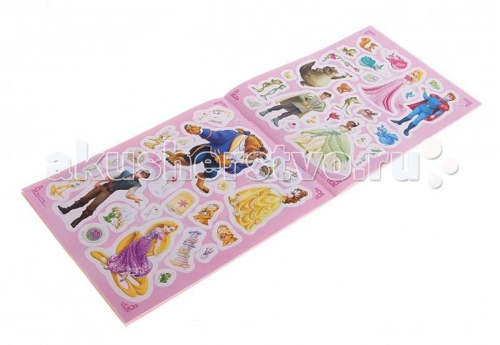 Книжки с наклейками Disney Книга наклеек Принцессы Диснея 100 наклеек