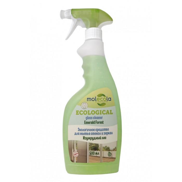 Бытовая химия Molecola Экологичное средство для мытья стекол и зеркал 500 мл средство для мытья стекол help лимон 500 мл