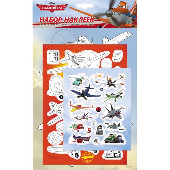 Детские наклейки Disney Набор наклеек 21133 детские наклейки disney самолеты коллекция наклеек