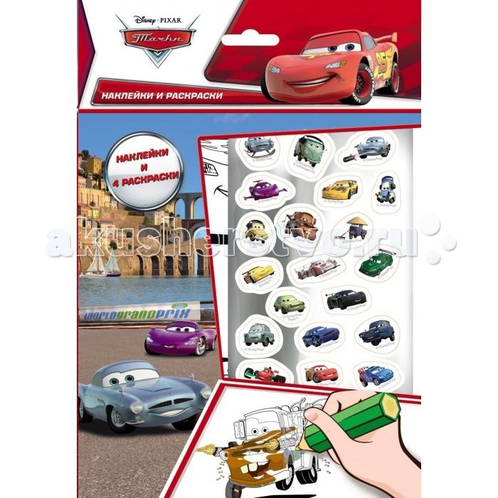 Детские наклейки Disney Наклейки и раскраски 21135 раскраски эксмо подарочный комплект со скидкой 2 раскраски