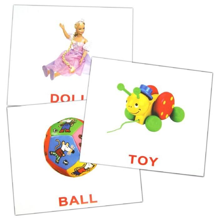 Раннее развитие Вундеркинд с пелёнок Обучающие карточки Первые английские слова 20 шт. webmoney карточки в туле
