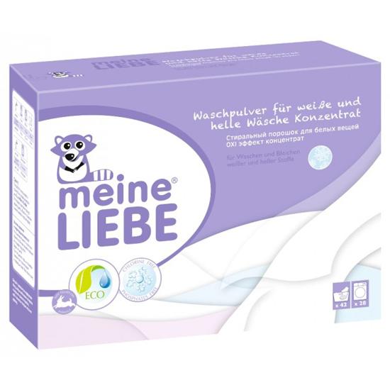 Детские моющие средства Meine Liebe Стиральный порошок для белых вещей Oxi эффект 1000 г стиральный порошок meine liebe для белых вещей oxi эффект концентрат 1000 г