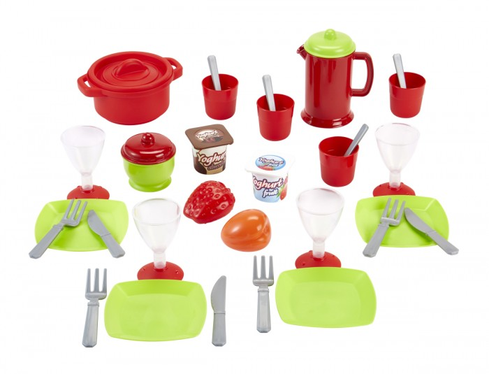 Ecoiffier Набор посудки Chef 36 предметов