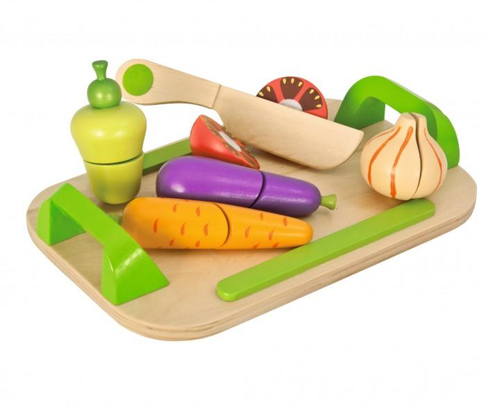 Ролевые игры Eichhorn Игровой набор Доска с овощами 12 предметов eichhorn вагон с цистерной