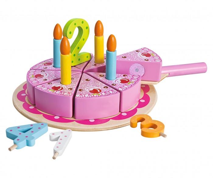 Ролевые игры Eichhorn Игровой набор Праздничный торт 18 предметов play doh игровой набор праздничный торт