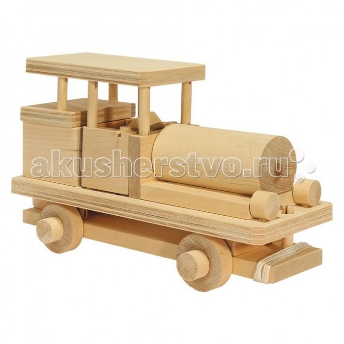 Каталка-игрушка Теремок Конструктор Автомобиль Модель 1