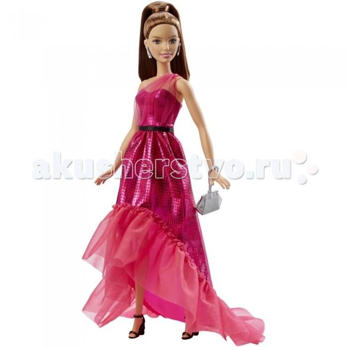 Куклы и одежда для кукол Barbie Кукла Барби шатенка в вечернем платье  недорого