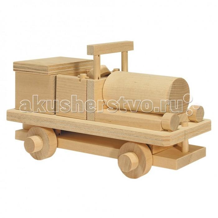 Каталка-игрушка Теремок Конструктор Кабриолет 1