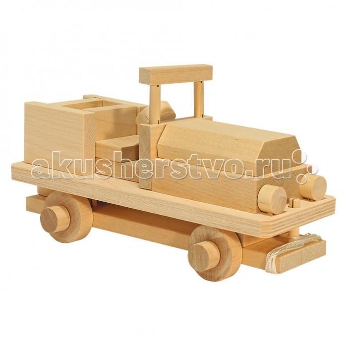 Каталки-игрушки Теремок Конструктор Военный джип