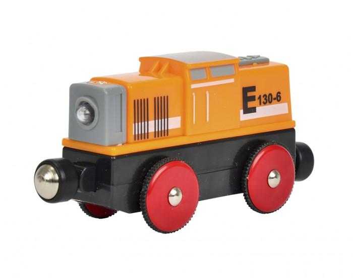 Железные дороги Eichhorn Локомотив 4 функции 11 см eichhorn вагон с цистерной