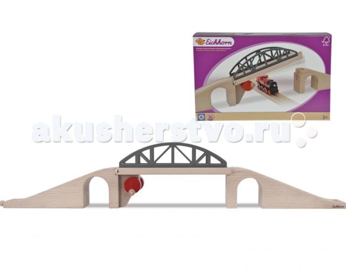 Eichhorn Набор деталей для железной дороги Разводной мост 61,5 см 4 детали