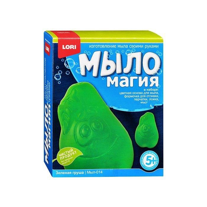 Наборы для творчества Lori Набор МылоМагия Зеленая груша lori набор для мальчиков юный скульптор lori