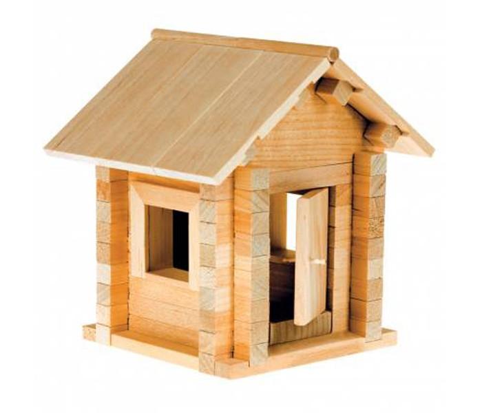 Конструкторы Теремок Теремочек 75 деталей woody деревянный конструктор терем теремок 36 деталей