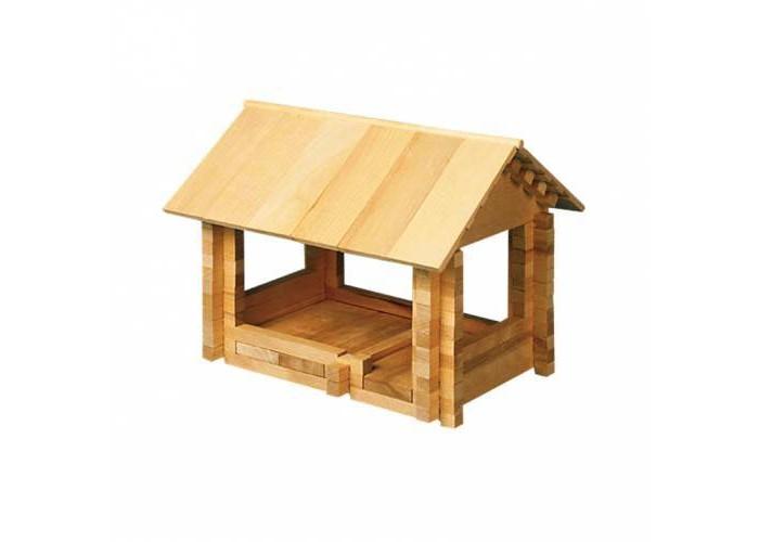 Конструкторы Теремок Ниф-Ниф изобретатель 152 детали конструктор деревянный лесовичок разборный домик 7