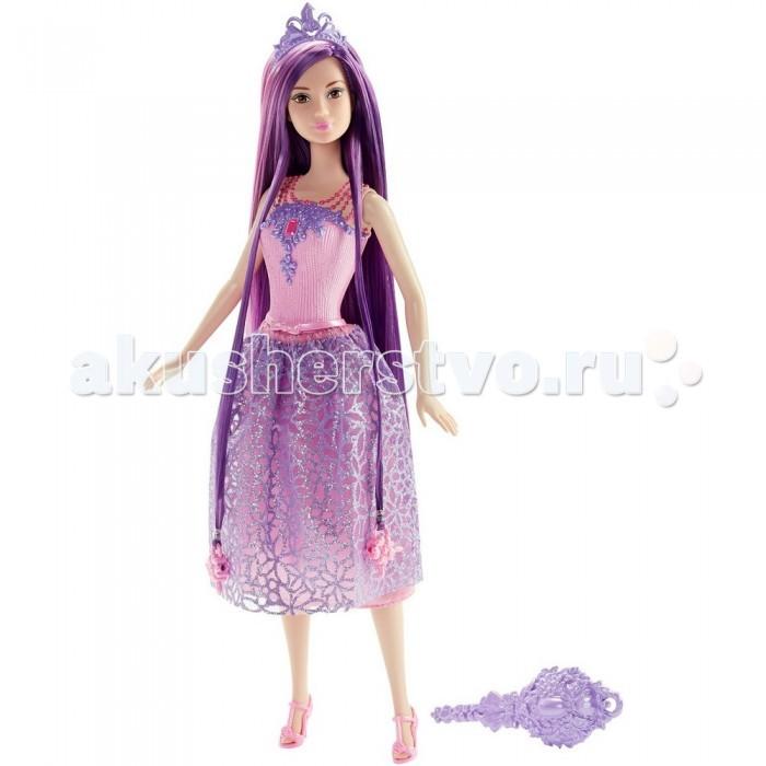 Куклы и одежда для кукол Barbie Кукла-принцесса Барби с длинными фиолетовыми волосами куклы barbie куклы принцессы с длинными волосами