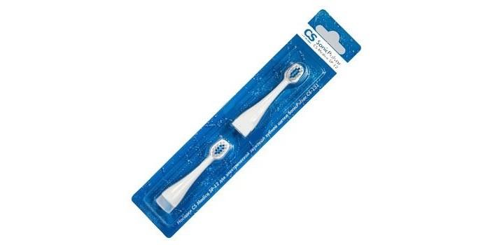 Гигиена полости рта CS Medica Насадки SP-22 для зубной щетки SonicPulsar CS-232 2 шт. cs h0451