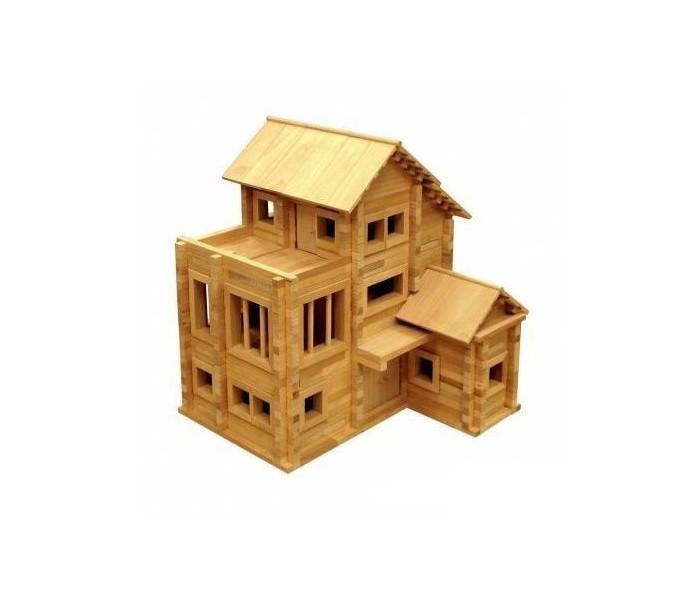 """Конструктор Теремок Теремок 3 790 деталейТеремок 3 790 деталейТеремок Конструктор Теремок 3 790 деталей  45 видов деталей, всего 790 деталей. Размер базовой модели 32,2х31х36,5 см. Рекомендованы для детей от 5 лет. Упаковка - деревянная коробка. Конструктор создан на базе конструктора «Теремок 2». Дополнительный набор этого конструктора содержит новые детали, которые значительно расширяют возможности для творчества.   К конструкторам прилагаются подробные инструкции на русском и английском языках, в них тщательно разъяснены правила игры, приведены пошаговые планы строительства нескольких моделей: от простых до наиболее сложных.   Кроме инструкции по сборке нескольких различных моделей прилагается компакт-диск с электронной версией пошагового строительства базовой модели, изображенной на коробке.   В основе сборки используется один из видов строительства, так называемый """"сруб с остатком"""". Все детали конструктора выполнены из натурального неокрашенного дерева.<br>"""