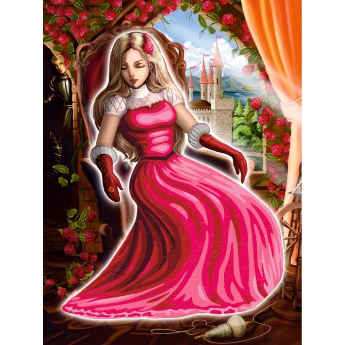 Раскраски Schipper Спящая красавица 18х24 см сувенир закладка спящая красавица набор 7 штук