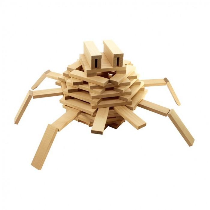 Фото Конструкторы Теремок Строительный набор Кусочки-брусочки 240 элементов И684