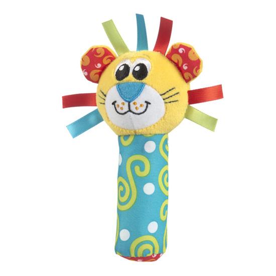 Развивающие игрушки Playgro Лев пищалка 0183442 мягкие игрушки playgro playgro игрушка пищалка лев