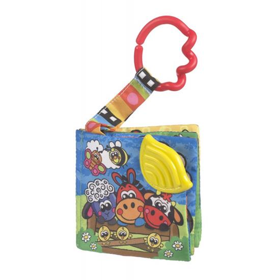 Книжки-игрушки Playgro Книга-прорезыватель Ферма 0182644 прорезыватели playgro книжка прорезыватель ферма