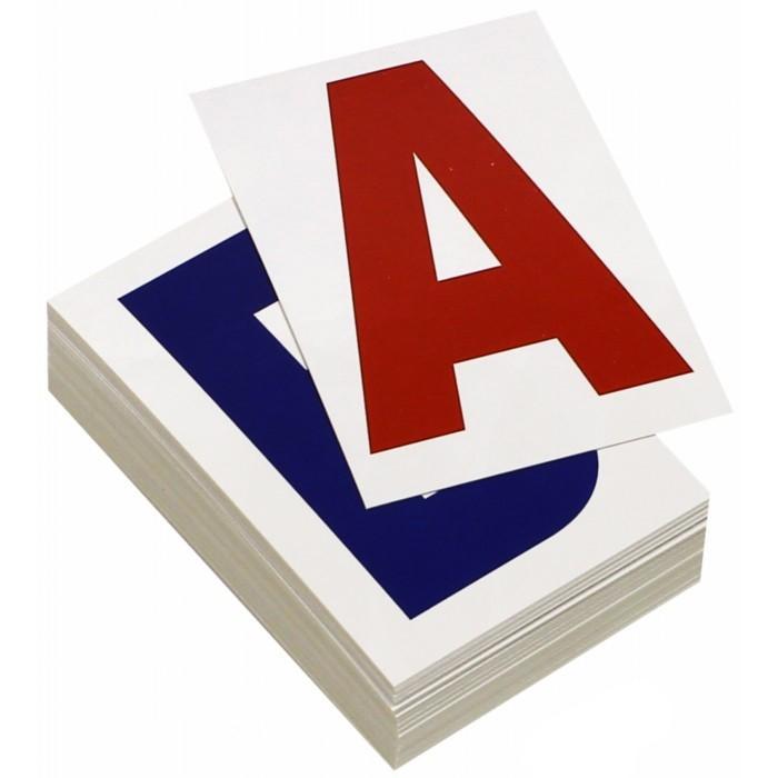 Раннее развитие Вундеркинд с пелёнок Набор обучающих карточек Буквы 48 шт. вундеркинд с пелёнок развивающее лото животные
