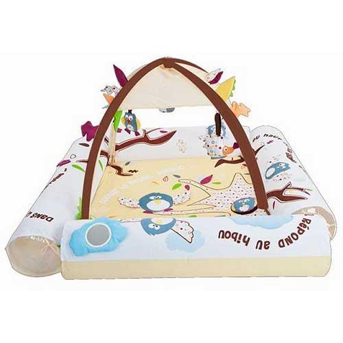 Развивающий коврик Ludi Природа с надувными бортиками