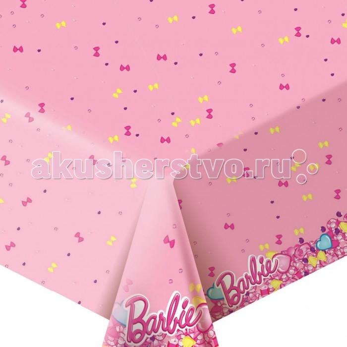 Товары для праздника Olala Скатерть Барби товары для праздника olala пакет для подарков барби