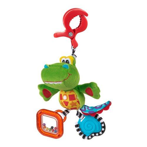 Подвесные игрушки Playgro Крокодильчик 0182855 подвесные игрушки playgro львенок 0181513