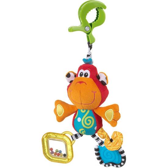 Подвесные игрушки Playgro Обезьянка 0182854 подвесные игрушки playgro сафари 0182253
