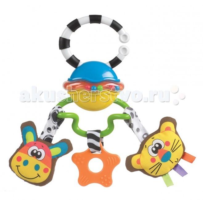 Подвесные игрушки Playgro Сафари 0182253 игрушки подвески playgro игрушка подвеска сафари