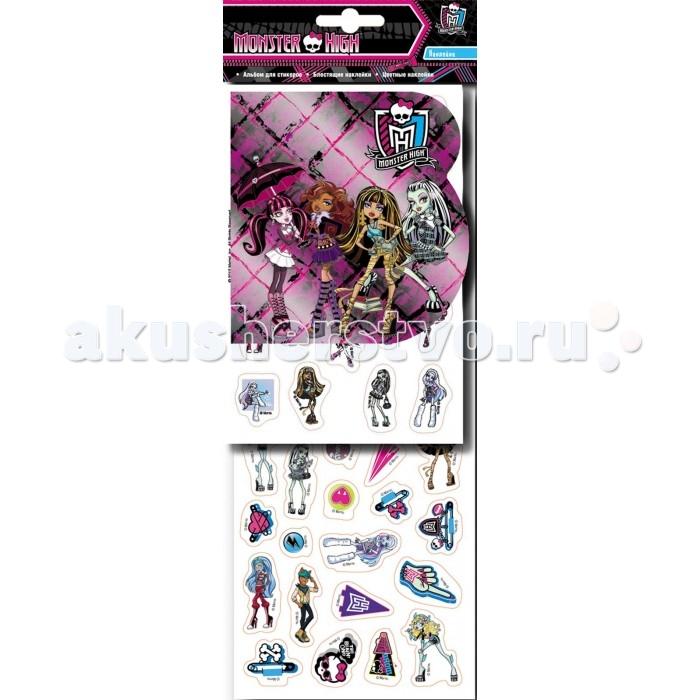 Детские наклейки Монстер Хай (Monster High) Набор наклеек 20822 куклы и одежда для кукол монстер хай monster high кукла шапито jinafire long из серии