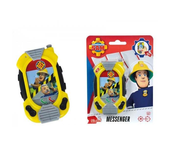Электронные игрушки Simba Пожарный Сэм Смартфон со звуком 12 см смартфон