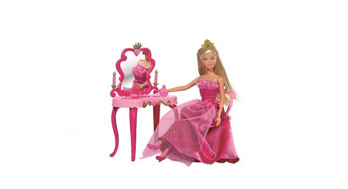 Куклы и одежда для кукол Simba Кукла Штеффи принцесса со столиком