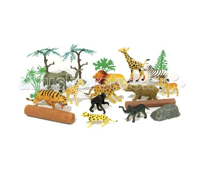 Игровые фигурки Boley Игровой набор Рюкзачок В мире животных 20 шт. игровые наборы esschert design набор игровой kg118