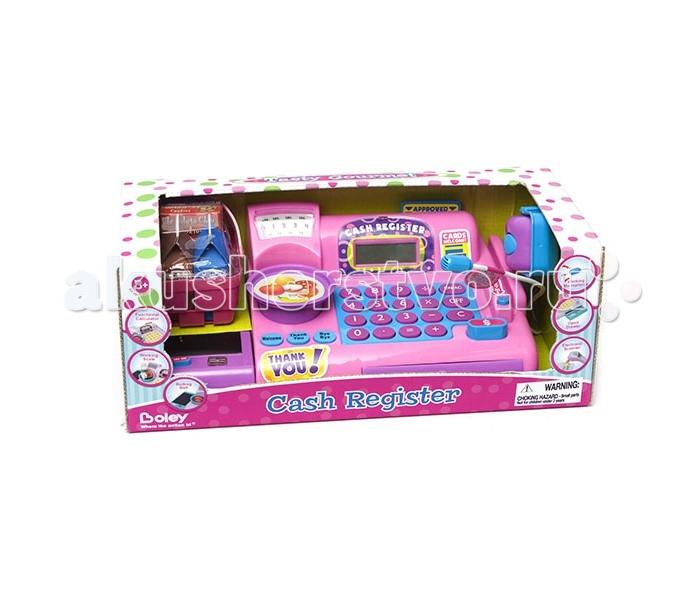 Ролевые игры Boley Касса-калькулятор с микрофоном игровой набор boley из 3 х предметов серия софия boley