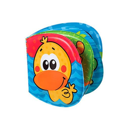 Игрушки для ванны Playgro Книжка-пищалка 0182722 мягкие игрушки playgro playgro игрушка пищалка лев