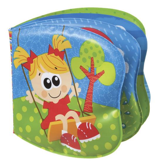 Игрушки для ванны Playgro Книжка-пищалка 0182724 мягкие игрушки playgro playgro игрушка пищалка лев