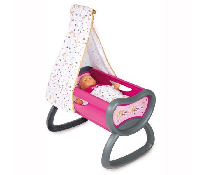 Кроватка для куклы Smoby Колыбель для пупса Baby Nurse 220311 от Акушерство