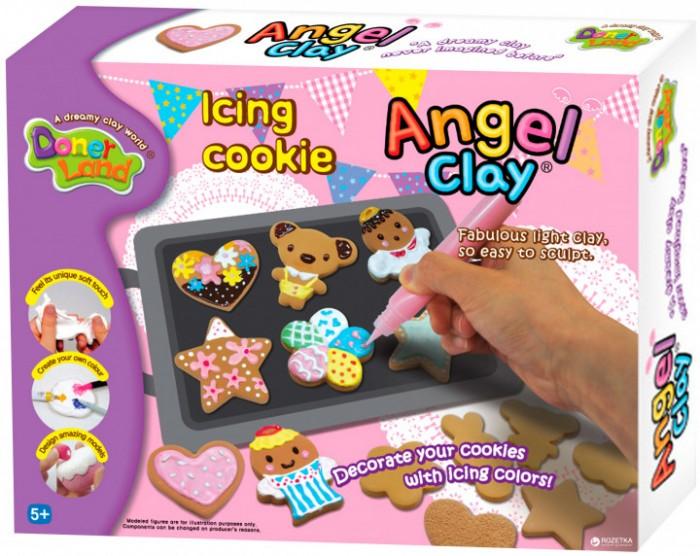 Всё для лепки Angel Clay Игровой набор массы для лепки Icing Cookies набор для лепки donerland angel clay funny safari aa14021